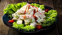 Cách làm salad hoa quả cho người ăn kiêng ngon không kém nhà hàng 5 sao
