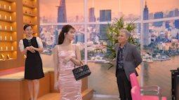 """Ngọc Trinh diện váy hồng ngọt ngào, đẹp lạ trong """"Hàng Ghế Đầu"""""""