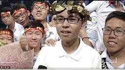 Chàng trai xứ Nghệ giành vé bước tiếp vào vòng thi Quý I Đường lên đỉnh Olympia