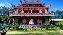 Bình yên ngôi chùa nằm giữa dòng sông ở Sài Gòn