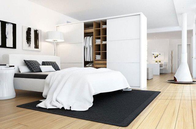 Những thiết kế tủ quần áo giúp bạn tiết kiệm diện tích