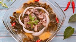 Canh lá giang thịt bò chua chua ngọt ngọt đưa cơm ngày lạnh
