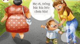 Cách cư xử của cha mẹ là tấm gương cho con trẻ
