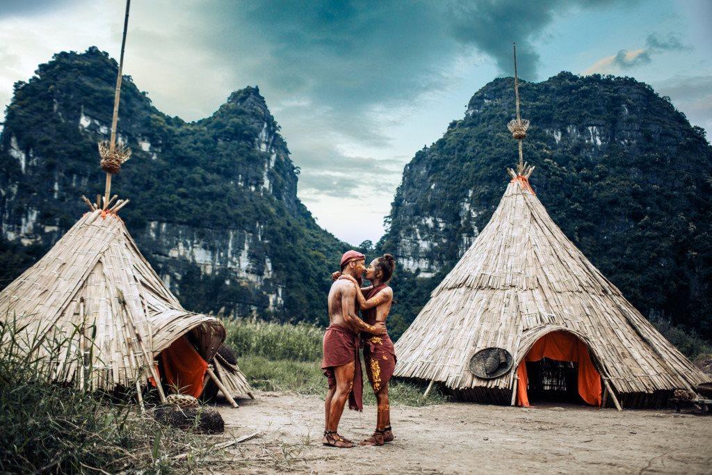 Một ngày làm thổ dân ở làng King Kong