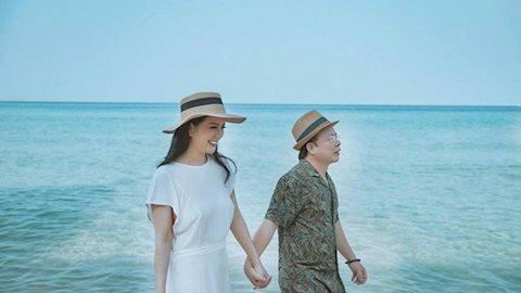Trầm trồ trước ảnh cưới hạnh phúc của Đinh Hiền Anh và thứ trưởng bộ tài chính