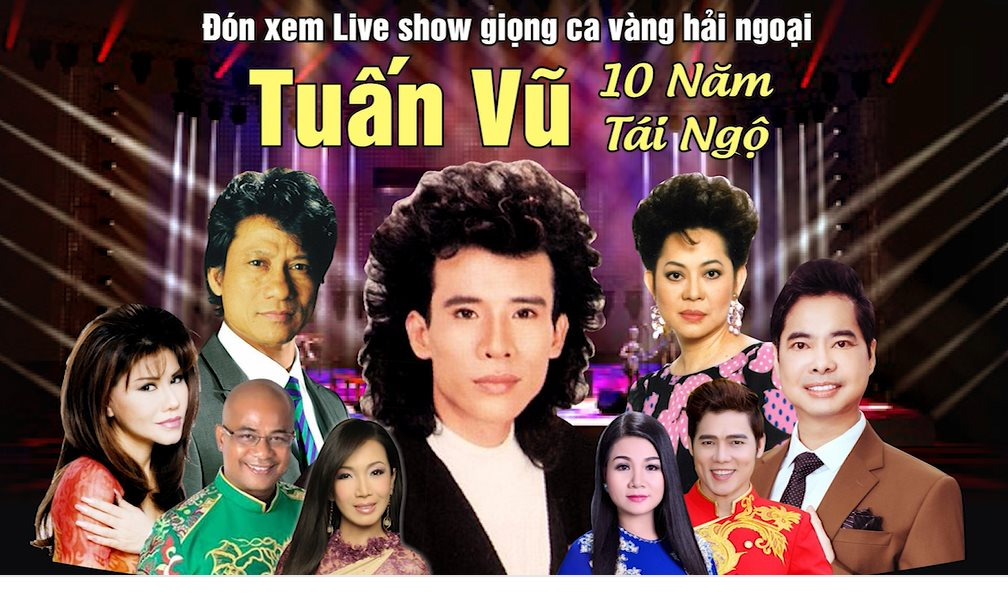 Phượng hoàng nhạc vàng Tuấn Vũ về nước làm live show để đời