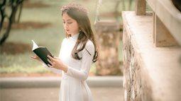 Xuýt xoa vẻ đẹp của nữ sinh đến từ Bắc Giang trong bộ áo dài trắng tinh khôi