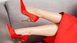 Đôi giày thần thánh giúp chị em kéo dài chân hiệu quả