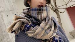 Sắm ngay những item khăn len sang chảnh cho mùa đông năm nay