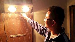 Cách dùng đèn sưởi nhà tắm đảm bảo an toàn