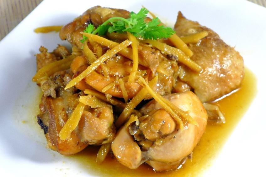 Vịt kho gừng – món ăn bổ dưỡng ấm nóng cho mùa đông