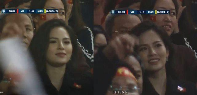 Truy tìm hot girl hớp hồn khán giả khi xuất hiện ở phút 80 trên sóng truyền hình AFF Cup 2018