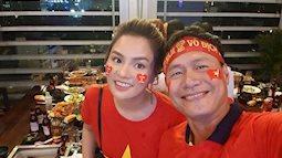 Siêu mẫu Thu Phương tặng 2 tỷ đồng cho Đội tuyển BĐ Việt Nam