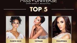 Top 5 Hoa hậu Hoàn vũ gọi tên H'Hen Niê, kết quả đáng khâm phục
