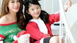 Ngắm con gái cưng của Trương Ngọc Ánh trong bộ ảnh Noel