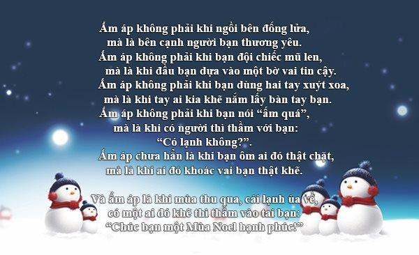 Top 15 lời chúc Giáng Sinh an lành, yêu thương