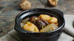Chả cá nấu với nấm hương, bí đao, món ăn bảo đảm bạn sẽ ghiền