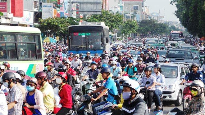 Đừng bỏ qua những lộ trình tránh kẹt xe vào đợt nghỉ Tết tới đây ở Sài Gòn