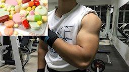 Nam giới có nguy cơ bị vô sinh nếu cứ lạm dụng thuốc tăng cơ khi tập gym