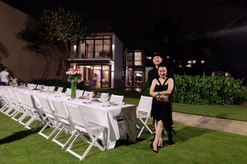 Sau đám cưới, Trương Nam Thành thường xuyên khoe ảnh đi chơi sành điệu với vợ doanh nhân