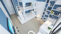 Thiết kế phòng ngủ cho con trẻ, thỏa sức sáng tạo
