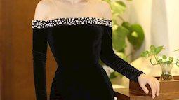 Những chiếc váy nhung khiến bạn trở thành nữ hoàng của đêm tiệc