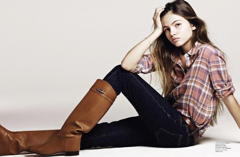 Người mẫu tuổi teen Pháp đứng đầu danh sách Gương mặt đẹp nhất hành tinh