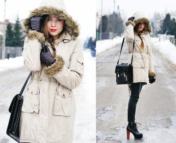 Áo parka, giải pháp thời trang cho những ngày đông lạnh buốt