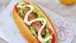 Tự tay làm bánh mì kẹp salad còn ngon hơn ở tiệm