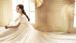 Đẹp xuất sắc váy cưới phong cách châu Âu của Á hậu Thanh Tú