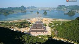 Ngỡ ngàng vẻ đẹp hư ảo linh thiêng của ngôi chùa lớn nhất Việt Nam