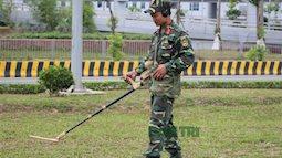 Ngỡ ngàng robot phát hiện bom mìn của học sinh Quảng Ninh