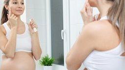 Mẹ dùng nhiều mỹ phẩm khi mang thai, con sinh ra có thể dậy thì sớm hơn bình thường