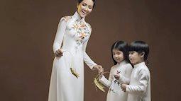 H'Hen Niê mặc áo dài trắng nền nã về với buôn làng, ngày càng xinh đẹp hơn