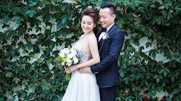 Gái hai con Vy Oanh lần đầu khoe ảnh cưới với chồng đại gia lãng mạn trên biển