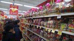 Cẩn thận kẻo mua nhầm  bánh kẹo nhái trong giỏ quà tết