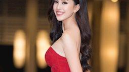 Bí quyết diện đầm đỏ rực rỡ như Tiểu Vy, Đỗ Mỹ Linh