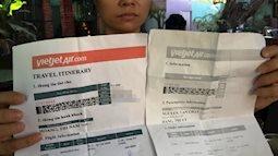 Cảnh báo: Xuất hiện vé máy bay Tết nguyên đán giả được bán công khai