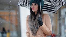 Mách chị em những items mặc đồ cho ngày mưa rét