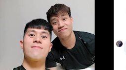 Đình Trọng hội ngộ Văn Thanh U23 ở xứ Hàn, cùng đăng ảnh siêu hài hước