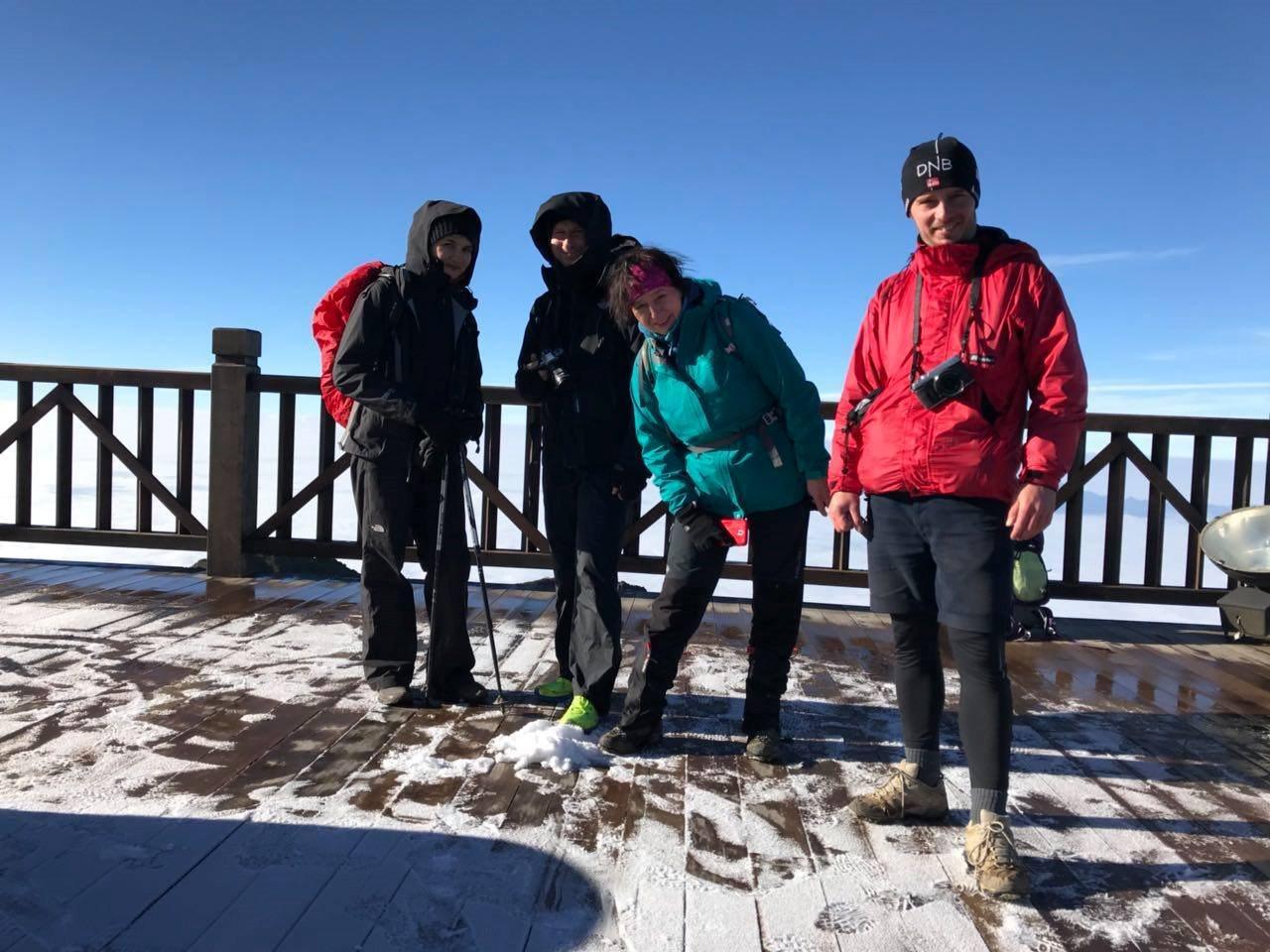 Fansipan đã có tuyết rơi vào rạng sáng ngày 17/1/2019