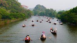 Khai hội chùa Hương ngày 6 tháng Giêng: Vé đi đò 50.000 đồng/người
