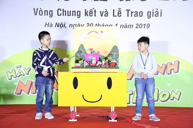 Vinh danh 30 ý tưởng xuất sắc nhất tại Vòng chung kết Sân chơi Ý tưởng trẻ thơ lần thứ 11