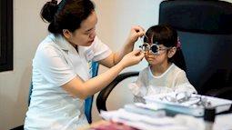 Báo động: 65 % đơn kính cận thị cho trẻ em thực hiện tại các hiệu kính bị sai