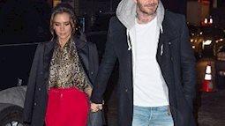 """Ông bà  Beckham đã """"tình như cái bình"""" sau đồn đại chia tay"""