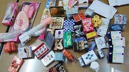 Báo động : Hà Nội thu giữ hơn 50 loại thuốc kích dục không rõ nguồn gốc