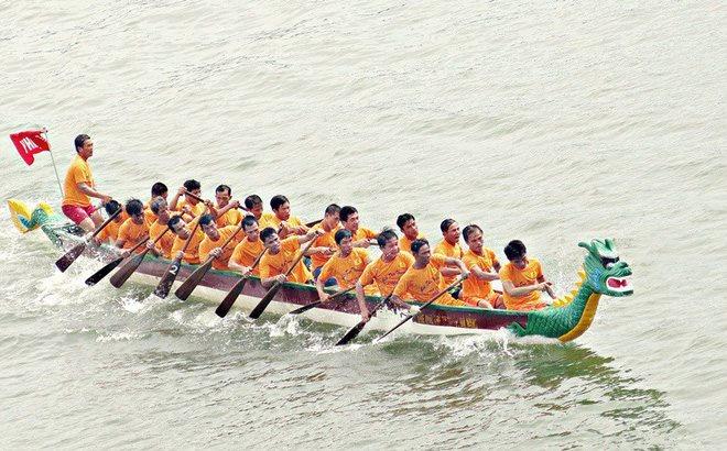 Lễ hội Bơi chải thuyền rồng Hà Nội 2019 có thêm nhiều điều mới lạ