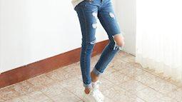 90 % phái đẹp thường mắc phải lỗi mặc quần jean kém đẹp sau