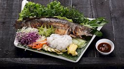 Ngày vía Thần tài ăn món cá lóc nướng mía để lấy may cả năm
