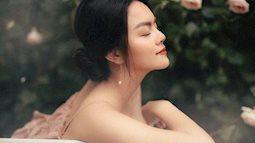 Hậu ly hôn, Phạm Quỳnh Anh đẹp đến nao lòng